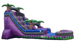 Purple Crush Waterslide with Pool
