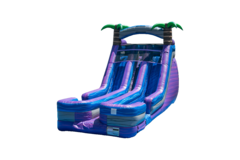 Purple Plunge Waterslide..