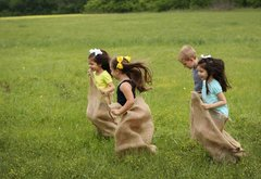 Potato Sack Racing
