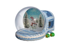 Inflatable Snow Globe Dual Chamber