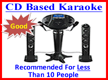 CD Based Karaoke Machine Rentals