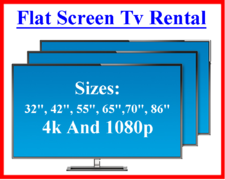 Flat Screen TVs, TV Stands