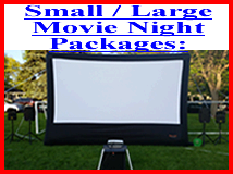 Movie Night Projection Package