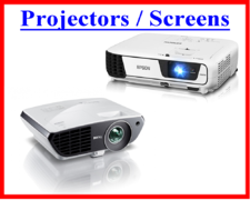 Projectors and Screens