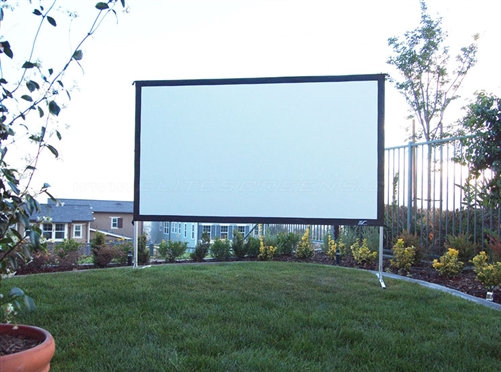 Indoor Outdoor 10 Foot Projection Screen Rental Denver