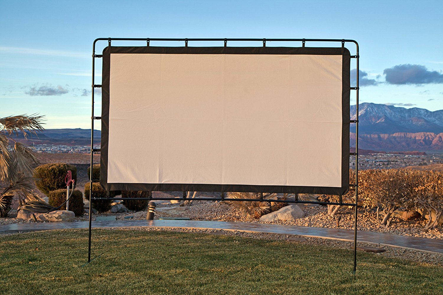 Indoor Outdoor Projection Screen Rental Aurora