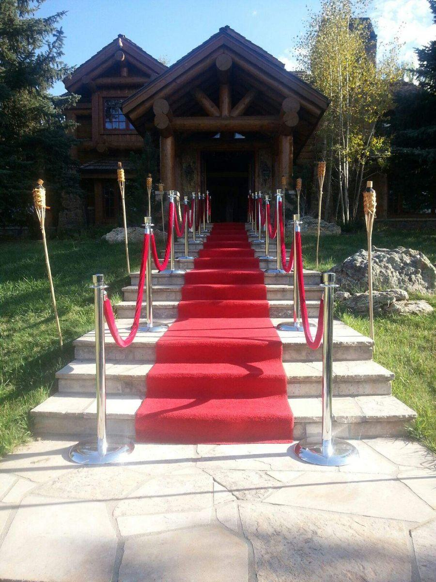 Red Carpet Party Rental Aurora Denver Littleton Boulder Pole Rental Red Velvet Rope