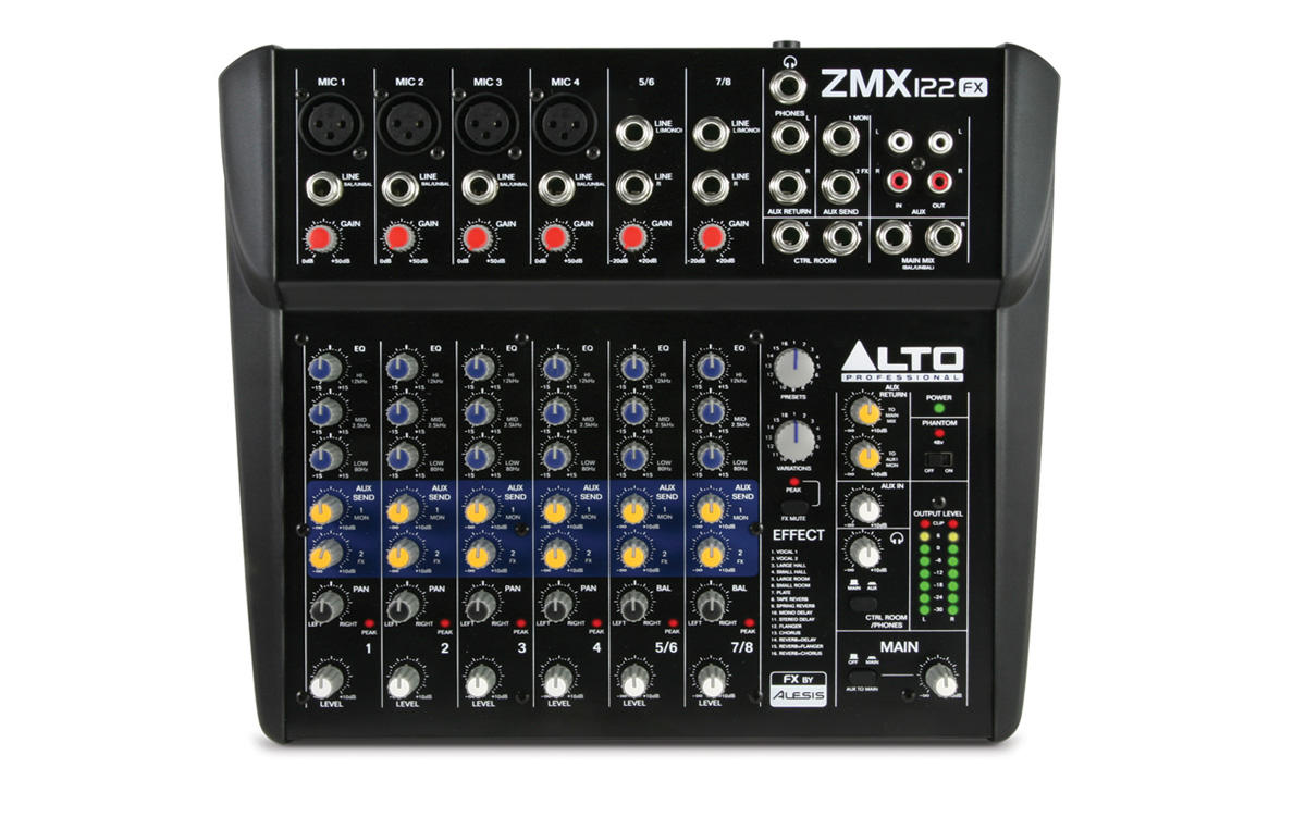 8 Channel Mixer Rental Denver Co
