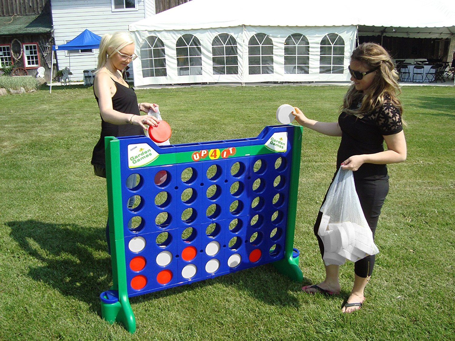 Jumbo Connect 4 Rental Giant Yard Games Denver Aurora Boulder Littleton Weddings