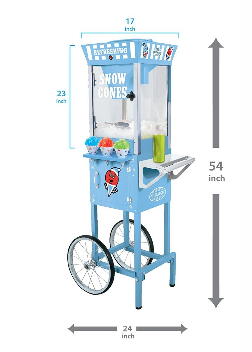 Vintage Snow Cone Cart Machine Rental Aurora Denver Boulder
