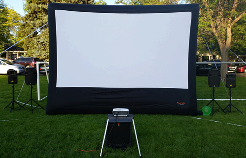 Outdoor Movie Night Rental, Movie Under The Stars Denver