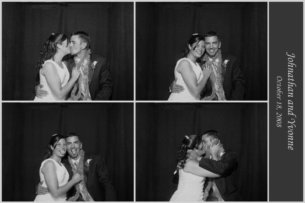 Black and White Wedding Photo Booth, Party Photo Booth, Birthday Party Photo Booth, Party Rentals