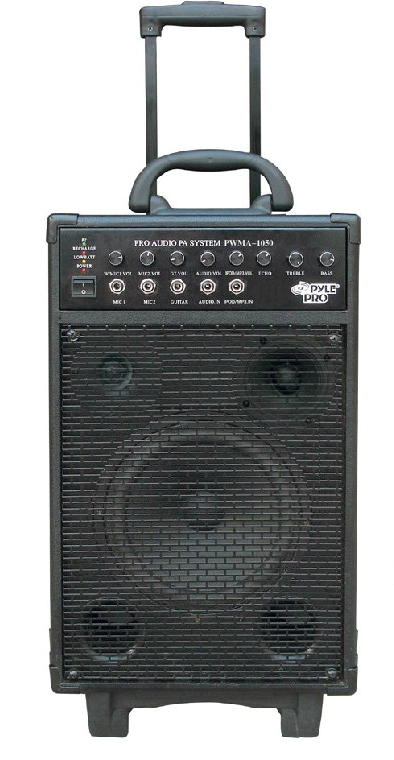 Portable Battery Powered Pa System Speaker Rental Denver Co Area