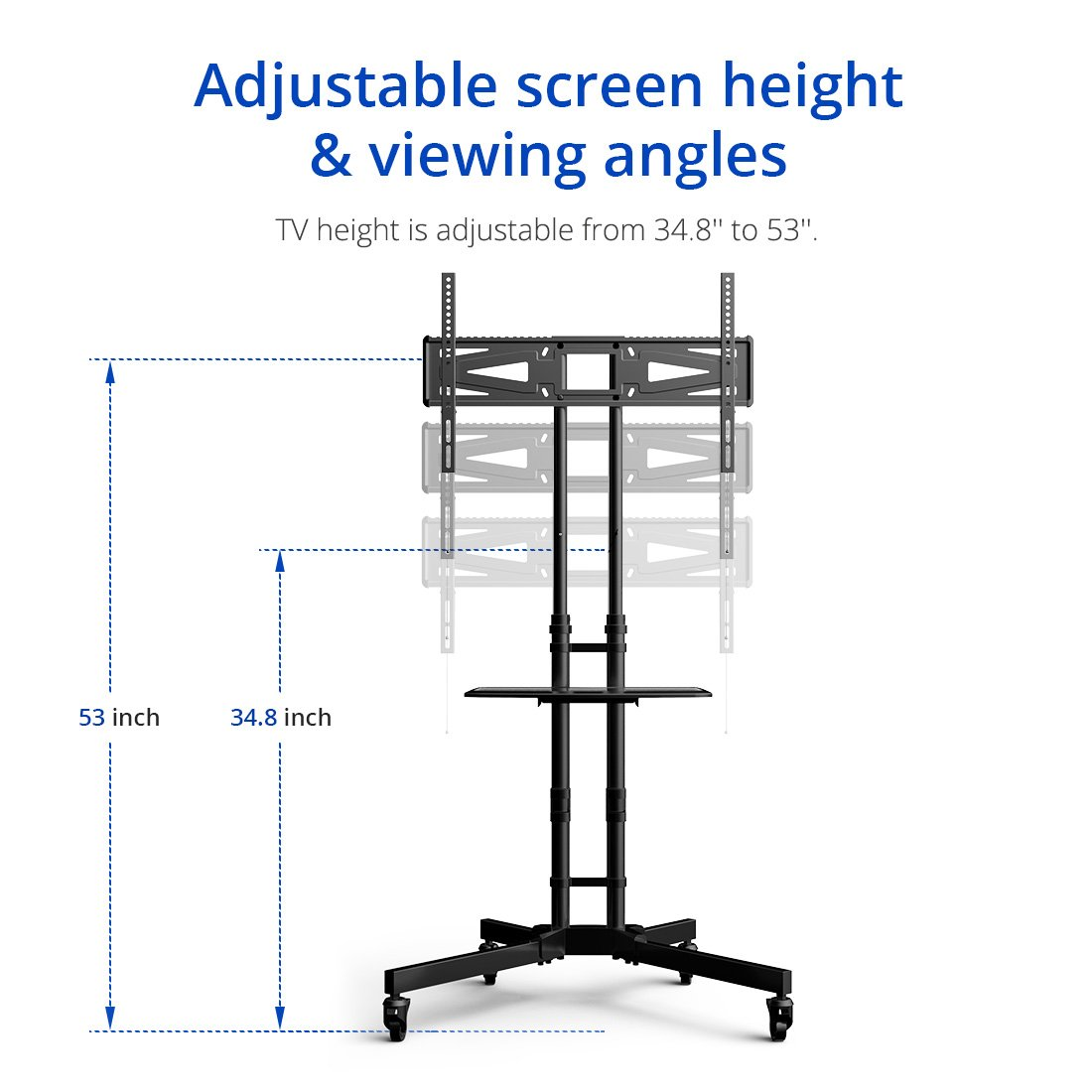 Tv Stand Rental Adjustable Height Denver Aurora Boulder Colorado