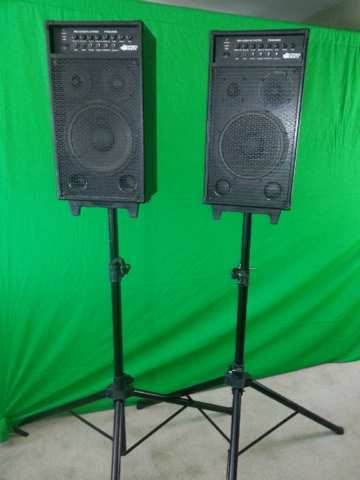 1600 Watt Pa System (Battery Powered or AC Powered)