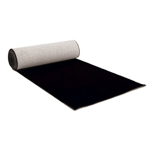3X25 Foot Black Carpet Rental