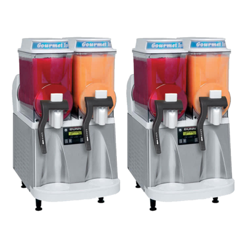 Two Large Double Barrel Frozen Drink Machines