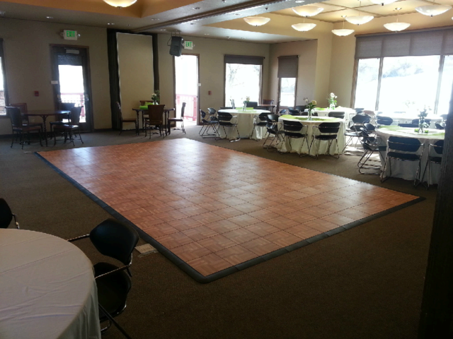 12x21 Dance Floor Rental