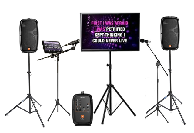 Mega Digital iPad Karaoke Rental with TV