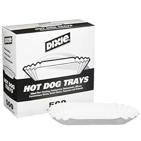 20 Hot Dog Paper Trays
