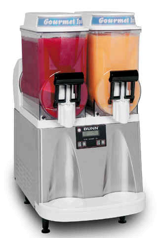 Large Double Barrel Frozen Drink Machine