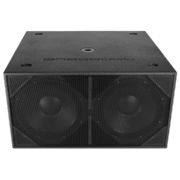 BassBoss ZV28 Powered Dual 18 Subwoofer Rental