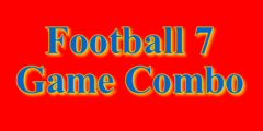 Electronic Football 7 Game Combo