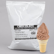 Chocolate Soft Serve Ice Cream Mix
