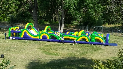 Inflatable Obstacle Course Rentals Near Me Prime Time