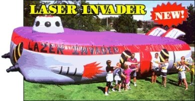 Lazer Invader Nerf Battle - 25x50