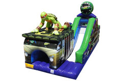 32ft Teenage Mutant Ninja Turtles obstacle course