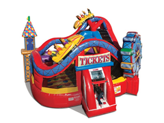 Amusement Park Bounce House- 18x18