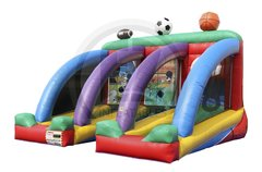 Triple Play Sports Zone - 10x20x15h