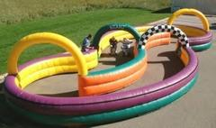 Inflatable Track - for trikes, horse races, or toilet racers - 25x50