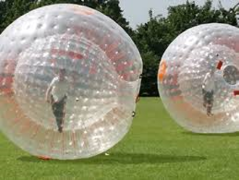 Zorbs - Human Hamster Balls  100-200ft minimum area required