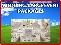 Wedding Large Event Packages
