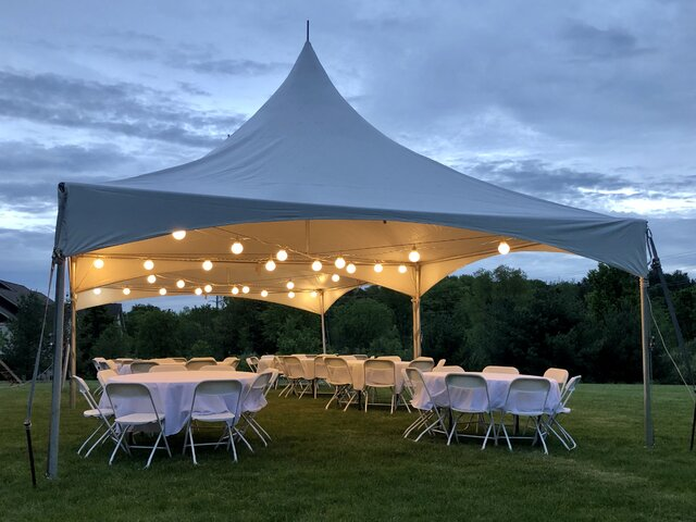 Tent Lighting (Two Strings per Tent)