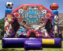 *Sports Bounce House*
