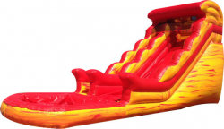 18' Hot Lava Waterslide