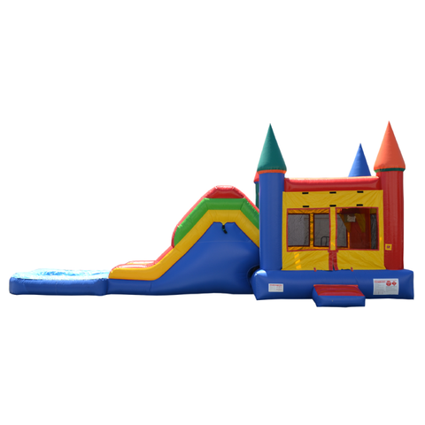 Crazy Castle with Dry Slide