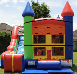 Bounce Castle and Slide (Dry)