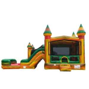 Fiesta Bounce House With Water Slide