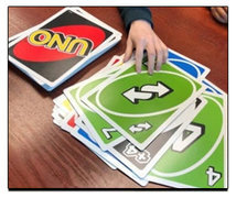 Giant Uno w/4 Ft Table and 4 Chairs