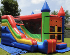 Bounce castle and slide (Water)