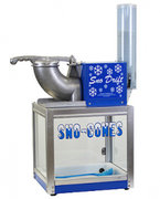 Cool Sno Cones Machine20 Servings included |   1 outlet needed Size: 3 x 3 x 3