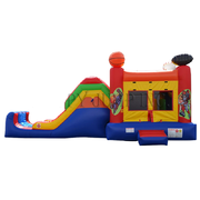Rent Sports Theme Combo Bouncer