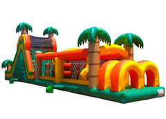 Jungle run obstacle course
