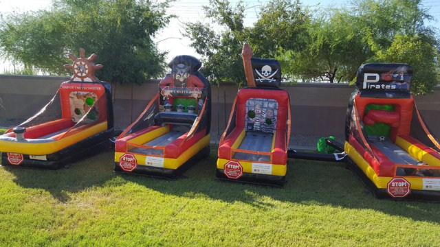 inflatable games 4 pc