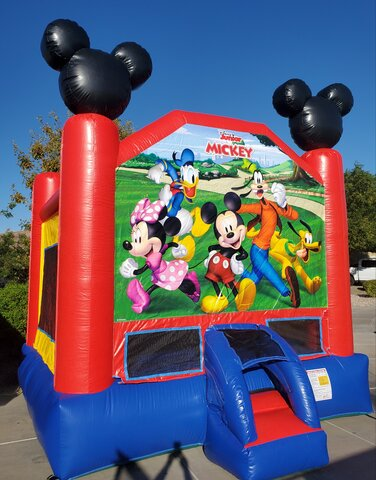 Mickey & Minnie Mouse Bounce House
