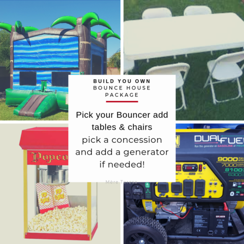 build your own bounce house package